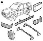Каталог запчастей Range Rover
